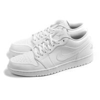 Air Jordan 1 Low (White/Metallic Silver)