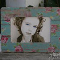 4 x 6 frames picture frames distressed frames shabby chic frames gift ideas  wedding gifts  flower girl gifts shabby chic decor