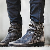 Free People Womens Left Bank Ankle Boot