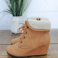Girls Lillyanna's Way Bootie - Tan