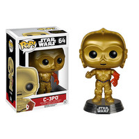 Star Wars The Force Awakens - C-3PO - Pop! Vinyl Bobble Head