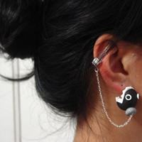 Original Super Mario Chain Chomper Ear Cuff