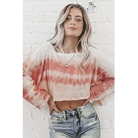 Totally Chill Light Weight Tie Dye Top