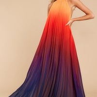 Mesmerized By You Sunset Multi Maxi Dress