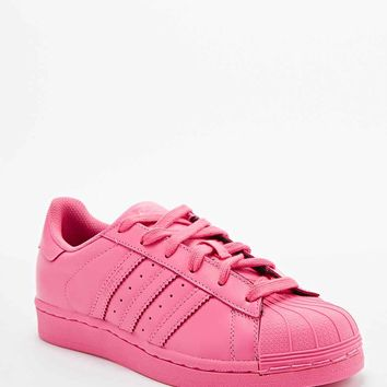 Adidas X Pharrell Supercolor Superstar Trainers in Pink - Urban Outfitters