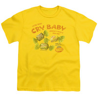 CRY BABIES/VINTAGE AD-S/S YOUTH 18/1-YELLOW
