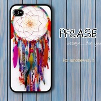 Dreamcatcher color style : Case For Iphone 4/4s ,5 / Samsung S2,S3,S4