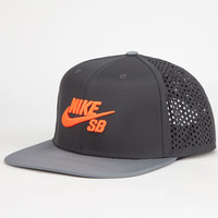 Nike Sb Performance Mens Trucker Hat Charcoal One Size For Men 25402511001