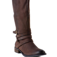 Steve Madden Shoes, Albany Riding Boot                       - Francescas