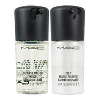 [MAC]  Fix+ Spray Makeup Setting Mist Skin Refresher -30ml+Cleanse Off Oil -30ml