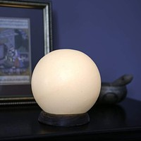 HIMALAYAN GLOBE SALT LIGHT – LIMITED QUANTITY - WHITE