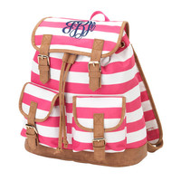Personalized Monogram Backpack Embroidered Monogram Backpack Embroidered Initials Backpack Embroidered Name Backpack Back to School Backpack