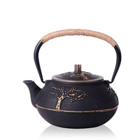 Authentic Cast Iron Teapot Japanese Tetsubin Tea Pot Set Kettle Drinkware 900ml Tools Kung Fu Infusers Stainless Steel Strainer