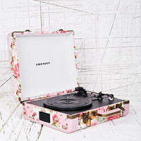Crosley Floral Mini Turntable UK Plug at Urban Outfitters
