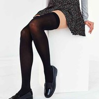 Super-High Thigh High Tight- Black One