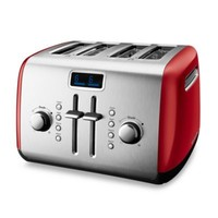 KitchenAid® 4-Slice High-Lift Lever Toaster in Red