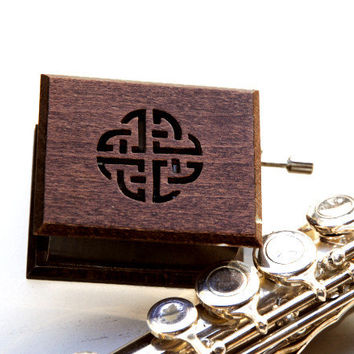 Anniversary gift for parents unique for him Pachelbel: Canon wooden music box