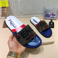 Fendi Fashion sequined slippers-1
