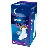 Always Infinity Extra Heavy Overnight Pads with Wings - 24ct