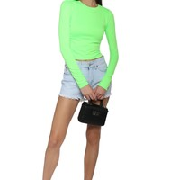 Jonathan Saint Neon Crop Top