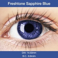 Sapphire Blue Colored Contacts