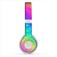 The Neon Color Fushion V2 Skin for the Beats by Dre Solo 2 Headphones