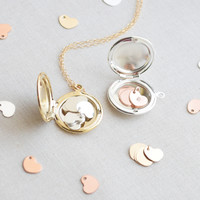 Additional Tiny Heart for Grandmother Locket