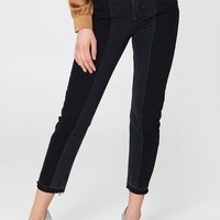 Two Wash Panel Jeans