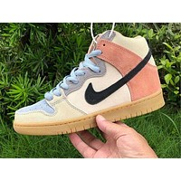 Nike SB Dunk High Pro Spectrum retro high-top casual sports skateboarding shoes