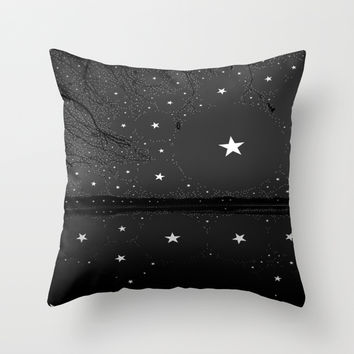 Shine Bright Throw Pillow by The Dreamery