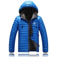 DCCK The North Face man down hooded jacket
