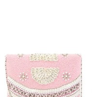 G-Lish | Beaded Faux Pearl Clutch | Nordstrom Rack
