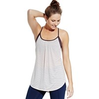 CALIA by Carrie Underwood Women's Striped Double Layer Tank Top | DICK'S Sporting Goods