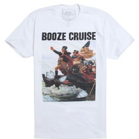 Riot Society Booze Cruise T-Shirt - Mens Tee - White