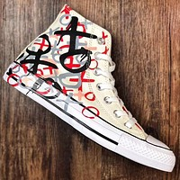Trendsetter Converse Chuck Taylor  Women Men Fashion Casual High-Top Old Skool Shoes
