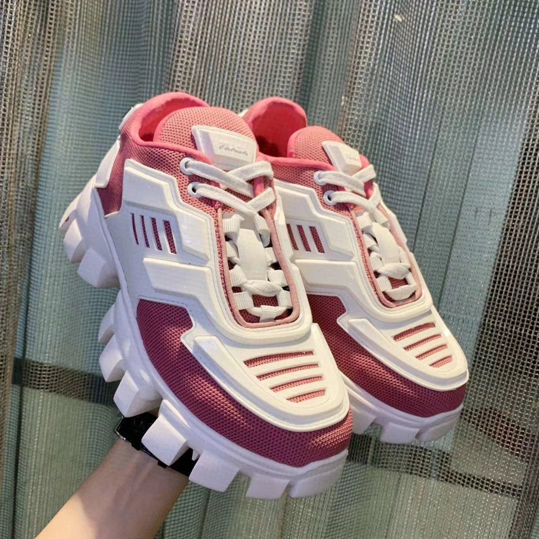 Image of prada womens mens 2020 new fashion casual shoes sneaker sport running shoes 2