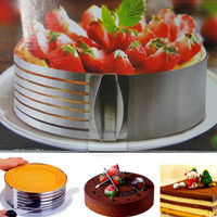 Stainless Steel DIY Shape Cake Moulds Layered Device