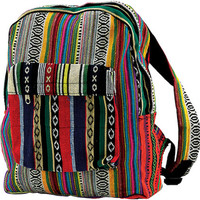 Contrast Striped - Backpack