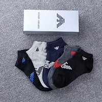 Armani Men Fashion Casual Cotton Knitwear Socks