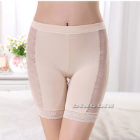 Hot Women Underwear Safety Pants Shorts Modal Lace Panties Comfy Briefs Leggings Summer Shorts Fit For Dress Free Shipping NY171