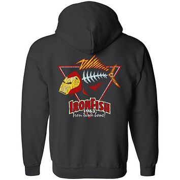 THE IRON FISH HOODIE AND TEES