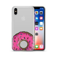 D'ohnuts - Clear TPU Case Cover