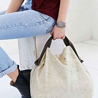 Jo Suede Shopping Bag-