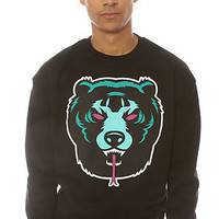 Mishka Crew Sweatshirt Death Adders Black