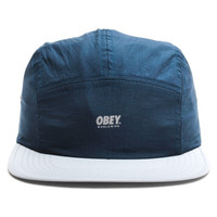 Obey - Competition 5 Panel Cap (Blue/Grey)