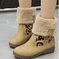 The new versatile rubber sole can fold ugg boots shoes