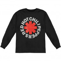 Red Hot Chili Peppers Asterisk Long Sleeve - Red Hot Chili Peppers - R - Artists/Groups - Rockabilia