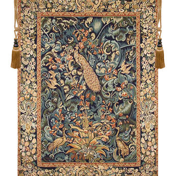 Peacock Tawoos Tapestry Wall Hanging
