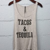 PREORDER - tacos & tequila