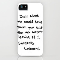 Sincerely, The Unicorns Free Shipping by Caleb Troy   Society6